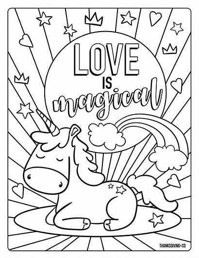 Coloring Pages Valentines Valentine Popular