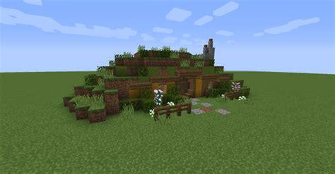 minecraft build inspiration  cute  hobbit house
