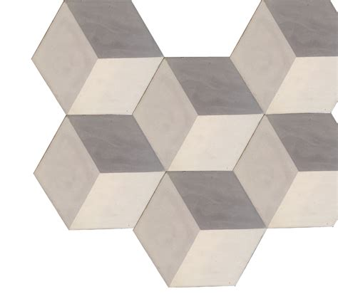hexagonal encaustic cement tile