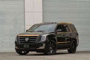 Black And Bronze 2015 Cadillac Escalade On Forgiato Wheels Autoevolution