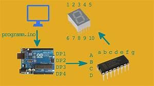 7 Segment Anzeige Mit Arduino