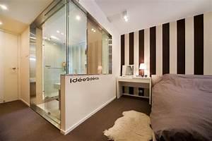 petite salle de bain dans chambre With chambre et salle de bain
