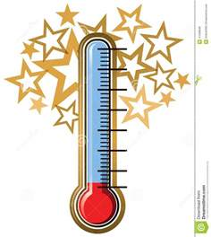 Fundraising Thermometer Template Excel Thermometer Goal Stock Vector Image 41599848
