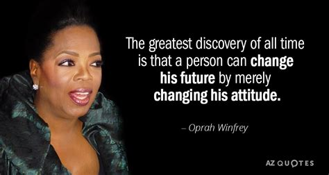 oprah winfrey quote  greatest discovery   time