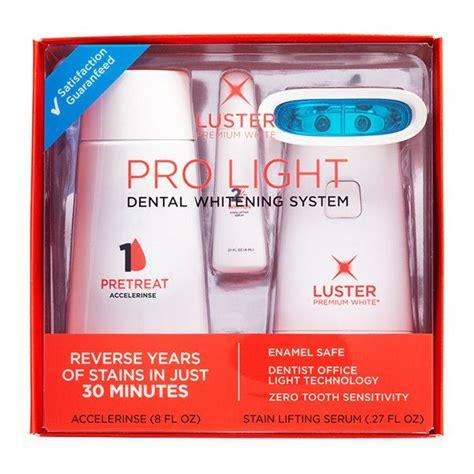 luster pro light pro light dental whitening system luster pro light