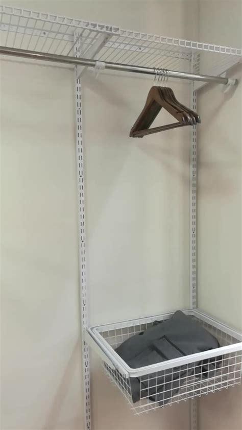 wall mounted closet modern diy wall mounted clothes hanger rack metal closet