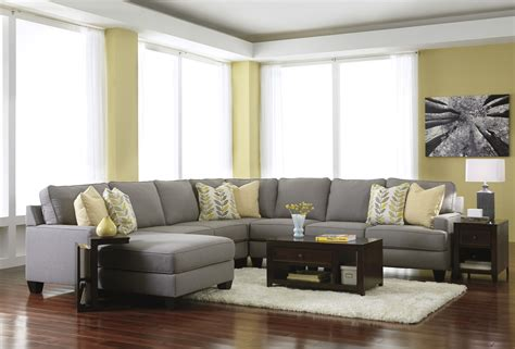 modern living room ideas decorating  grey fabric