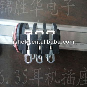 35mm Stereo Headphone Wiring by 6 35mm 6 5mm Mono Stereo Headphone Microphone 1 4