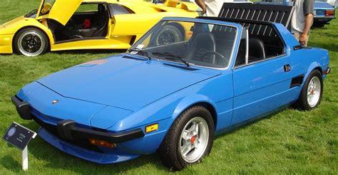 Fiat X19 fiat x19 1972 1989