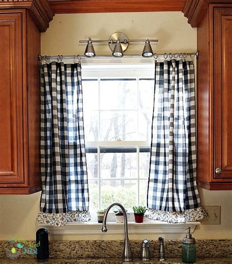 frugal decorating   Kitchen curtains, Kitchens and Country