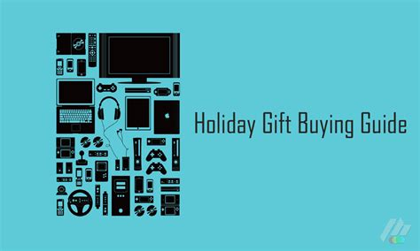 holiday gift buying guide 2013