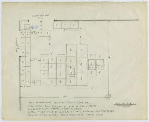 map  texas school book depository   portal