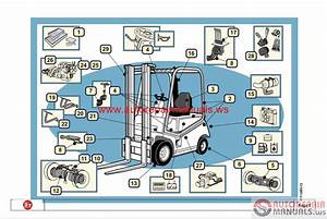 Cesab Forklift Spare Parts Catalog Cd