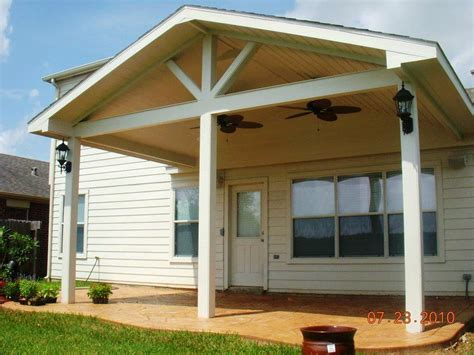 patio cover ideas free standing patio cover designs plans