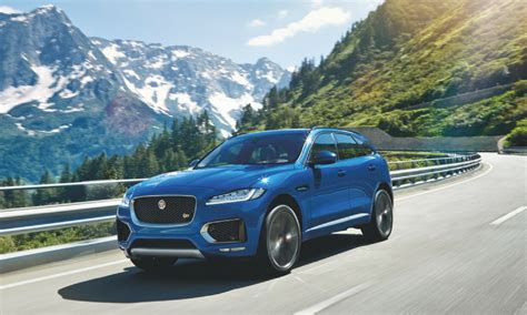Jaguar Fpace Is About To Get A 550 Horsepower Heart