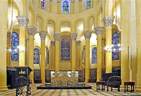 file choeur de la basilique notre dame du port clermont ferrand jpg wikimedia commons
