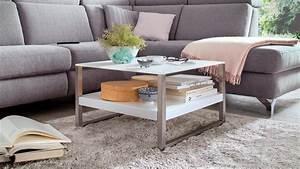 Couchtisch Weiß Glas : couchtisch baveno in mdf und glas wei lack mit metallgestell 65x65 cm ~ Eleganceandgraceweddings.com Haus und Dekorationen