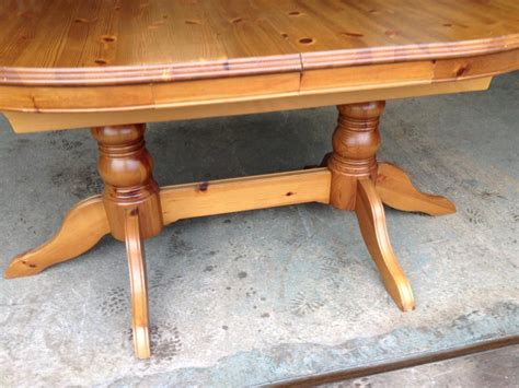 solid pine extending dining table 6 chairs may