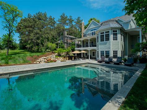 A 7000 Square Foot Luxury Lake Michigan Beach House Fall