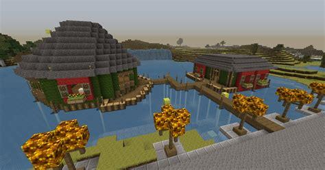 Minecraft Boat Town by Tavern Design Bundle Minecraft Project