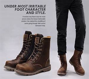 Mens Black Leather Boots Fashion Ohmo | Men's Fashion ...
