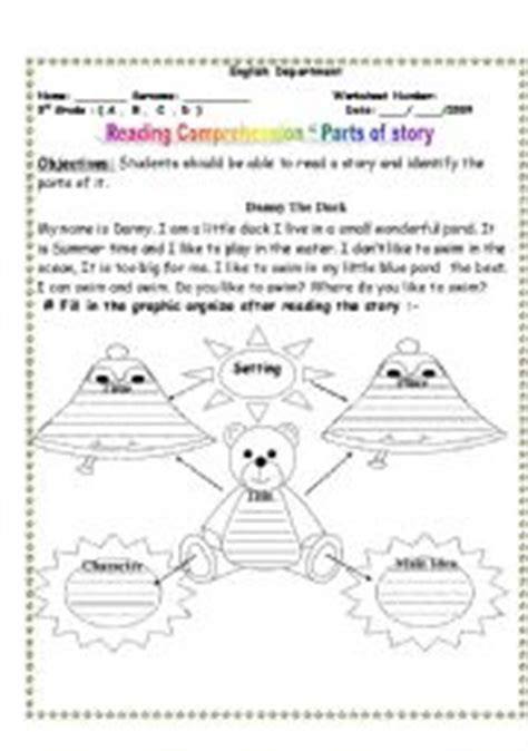 english worksheets parts   story