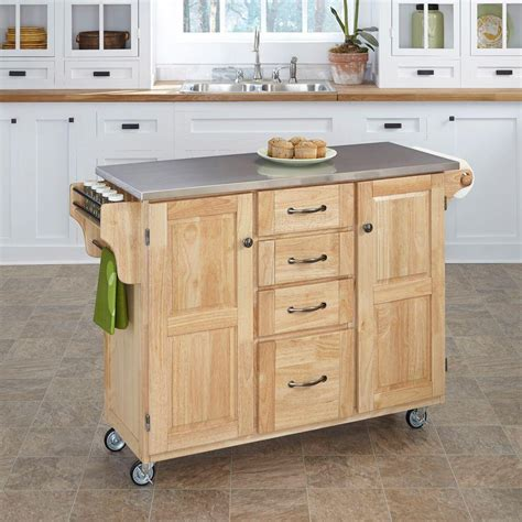 kitchen island cart home depot kitchen carts carts islands utility tables the home 8153