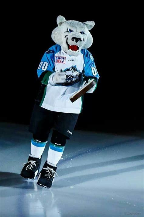 Best Mascot In The Echlboomer Alaska Aces Pinterest