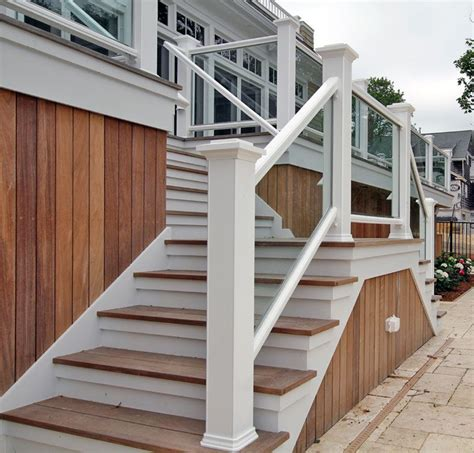Wooden Handrails For Outdoor Steps - outside wood handrails for stairs search