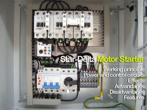 star delta motor starter explained  details eep