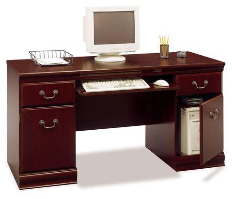 Sauder Heritage Hill 60 Executive Desk by Bush Birmingham 30 1 2 Quot H X 60 5 8 Quot W X 22 3 4 Quot D Executive