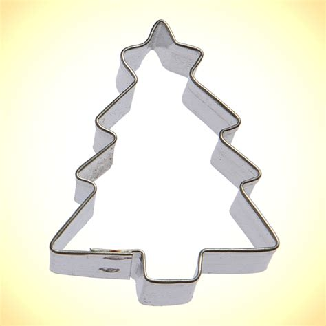 mini christmas tree cookie cutter 1 6 in cookie cutter