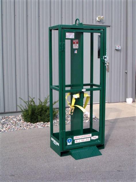 custom cage models gas cylinder cages crane