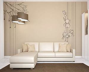 poser du papier peint dans un interieur design webzine With chambre bébé design avec vente de fleurs pour association