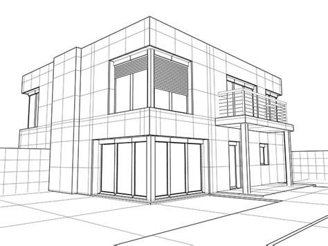 Moderne Häuser Zeichnen by Start D