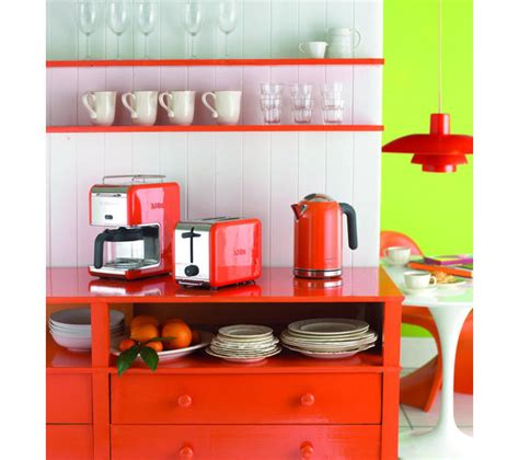 orange kitchen appliances kettles cheap kettles deals currys
