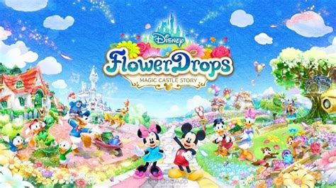 disney flower drop magic apkdata mod  android