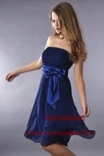 robe mariage bleu marine robe bleu marine robe de cocktail maysange