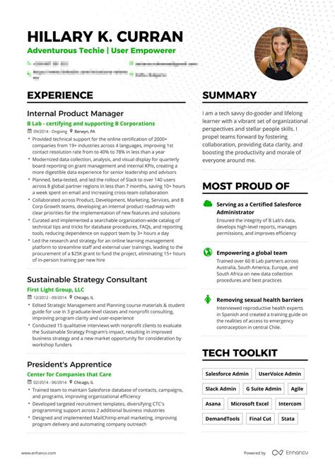 Great Product Manager Resume by Real Product Manager Resume Exle Enhancv