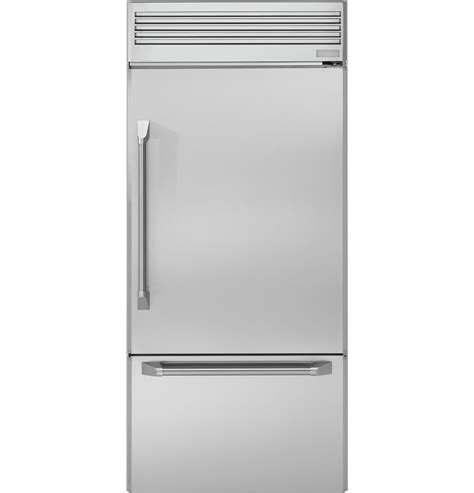 zicpnhrh monogram  professional built  bottom freezer refrigerator  monogram