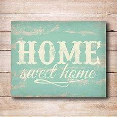 Home Sweet Home Print, Home Sweet Home Sign, Rustic Wall