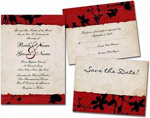 Wedding cards and gifts red and black torn paper wedding for Wedding invitations rice paper