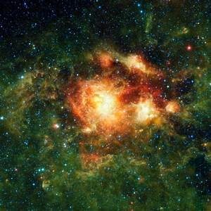 Interstellar gas allows chemical reactions caused by ...