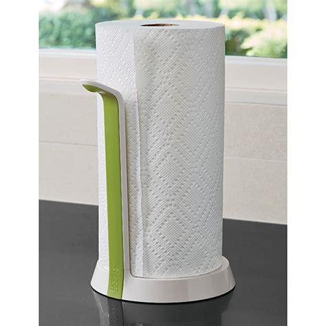 kitchen towel holder ideas easy tear paper towel holder by joseph joseph the