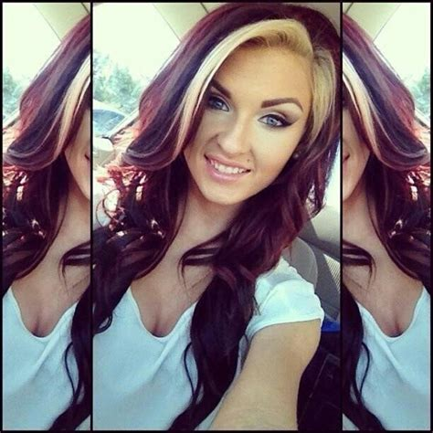 two tone hair color on top light on bottom two tone hair color combos you should try