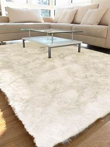 Hochflor Teppich Weiß : benuta hochflor teppich whisper wei 60001046 uni ~ Lateststills.com Haus und Dekorationen