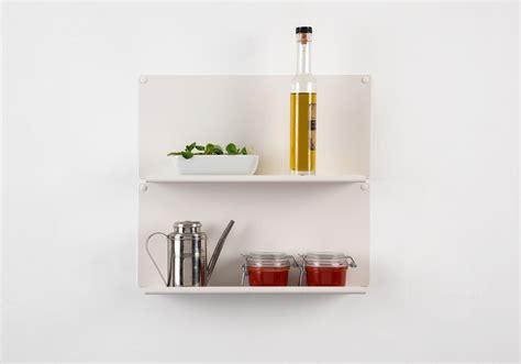 pour la cuisine étagère pour la cuisine quot le quot ot de 2 45x10 cm acier
