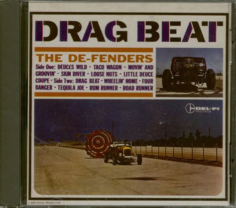 Drag Beat by The De Fenders Cd Drag Beat Cd Family Records