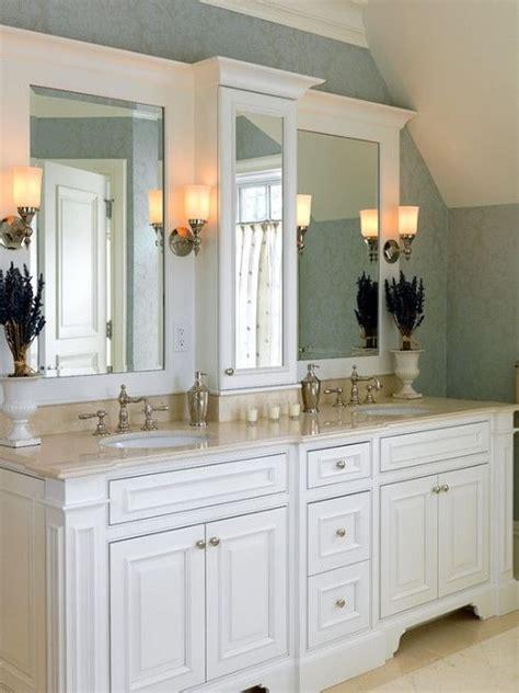 stunning bathroom counter storage tower designs