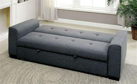 reilly gray futon sofa  furniture  america coleman